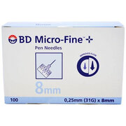 INSULIN BD MICRO-FINE 8 MM-HG1