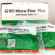 0.5ml Insulin Syringe  BD Micro Fine Plus (30G)