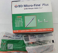 1ml Insulin Syringe  BD Micro Fine Plus (29G)